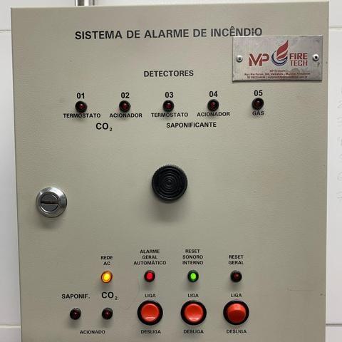 Instalação de sistema de combate à incêndio Saponificante, CO2, FM 200, NOVEC 1230 - Foto 6