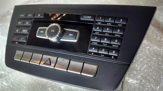 Rádio Central Multimídia Mercedes Benz C180 2013 Original