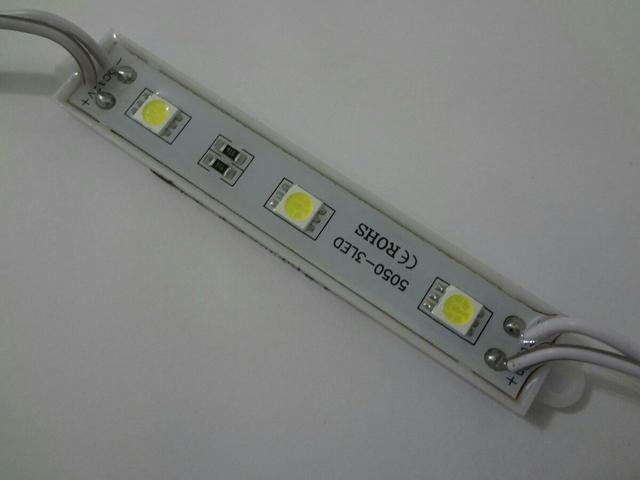 Barra com 3 LED automotivo 12v