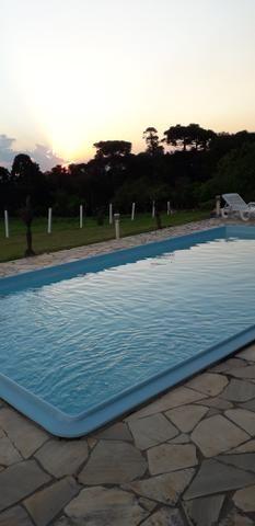 ALUGO Chácara com piscina e muito lazer para férias e temporada - Foto 3