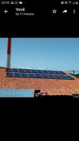 Montagem e desmontagem de painéis solares - Foto 6