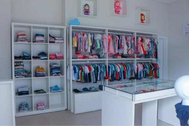 Vende-se loja de roupas e acessórios infantis completa - Foto 8
