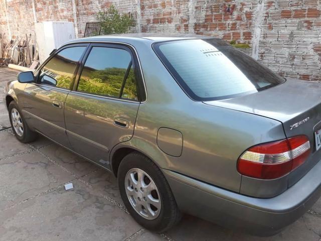 Corolla automático 2001 bom estado de conservação