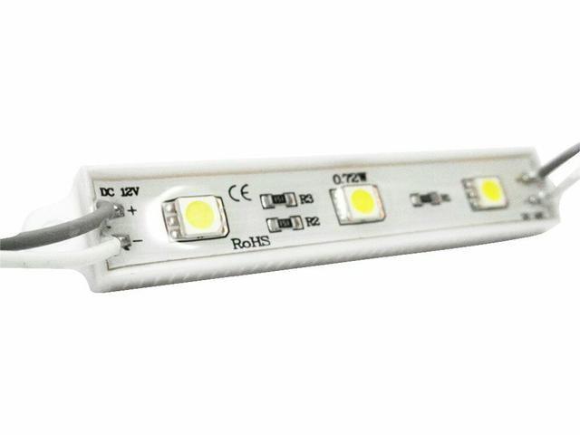 Barra com 3 LED automotivo 12v - Foto 5
