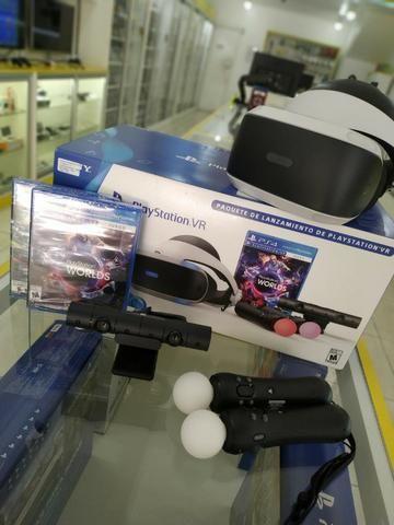 d50cafdc10407 Oculos VR - PS4   Bundle Completo   90 Dias de Garantia   NF-e ...