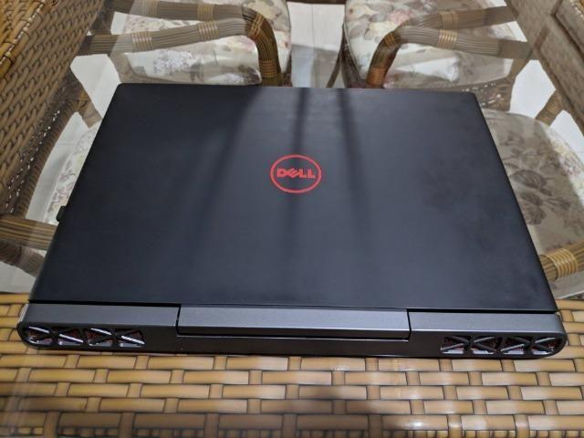 Notebook dell gaming 7567 - core i7 7700hq | 8gb ddr4 | 256 gb ssd + 1tb |  gtx 1050 ti 4gb