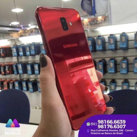 3420062a66d8b Samsung galaxy j6 plus vermelho novos - Celulares e telefonia ...