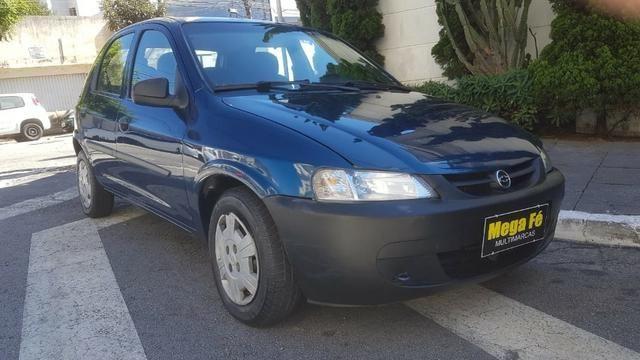 Chevrolet Celta 1.0 VHC 5p 2003 Azul Super Conservado Doc OK