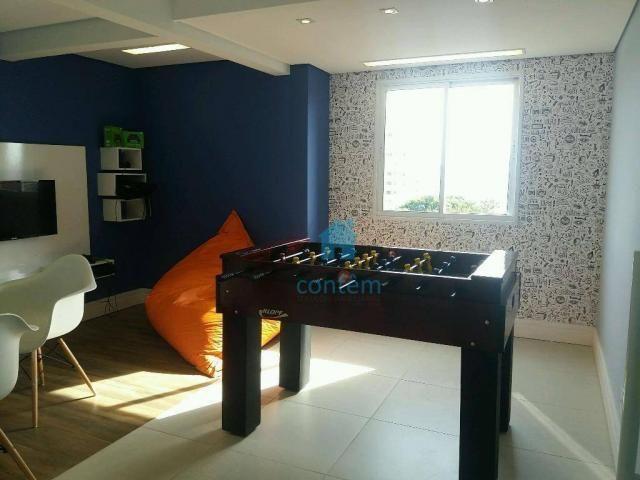 Apartamento com 2 dormitórios à venda, 53 m² por R$ 300.389,54 - Quitaúna - Osasco/SP - Foto 20