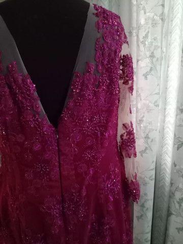 Vestido Luzia. Ateliê Silma Pontes - Foto 4