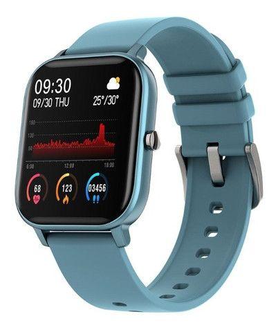 Relógio Smartwatch Colmi P8 esportivo fitness com frequência cardíaca/ tela touch IPX7