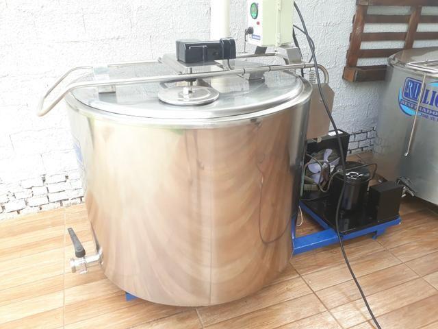Resfriador 400 LITROS INOX LEITE TINA - Foto 2
