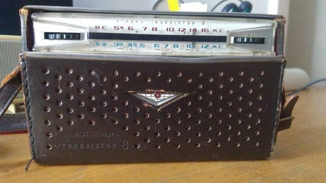 Rádio Sharp Transistor 8 Antigo - Foto 5