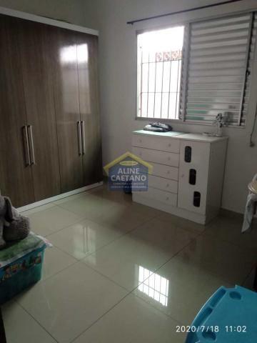 Casa à venda com 2 dormitórios em Tupi, Praia grande cod:AC763 - Foto 10