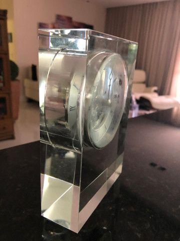 Relógio em Cristal para Decoração  - Foto 2