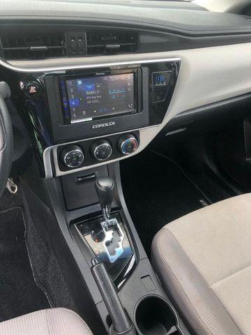 Corolla Gli 1.8 Aut. 2018 Prata Completo - Foto 8