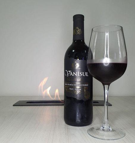 Vinho Tinto Bordô Seco - Vanisul