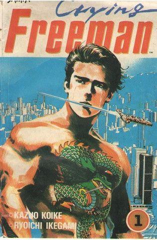 Mini-Série Completa - Crying Freeman (4 edições)