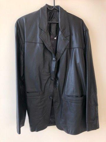 Jaqueta de couro TAM GG