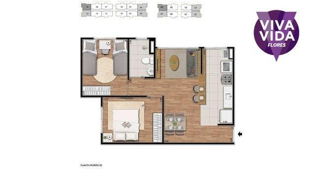 Vendo Apartamento no Viva Vida Flores com 2 quartos  - Foto 2