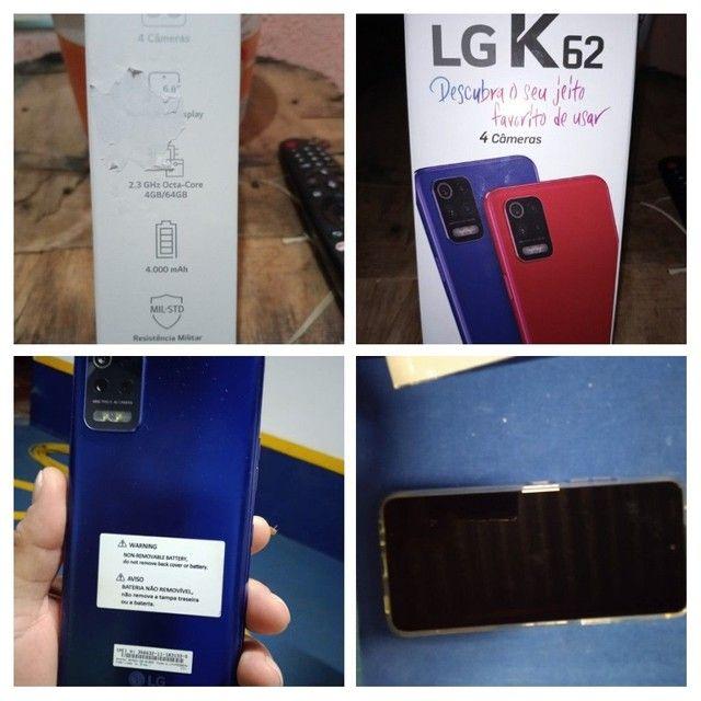 Vendo ou troco LG k62 com 17 dias de uso