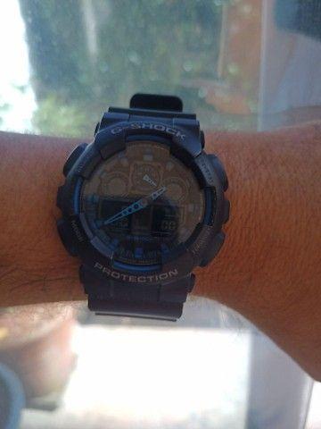 Relógio Casio G-SHOCK GA 100 usado - Foto 4