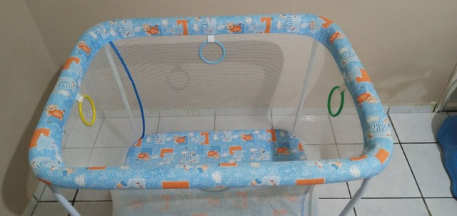 cercadinho-para-bebe-tubline-little-baby-dobravel semi novo - Foto 2