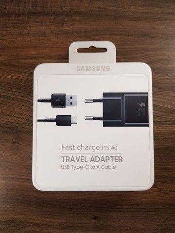 Carregador Original Samsung - USB C e Micro USB - Foto 2