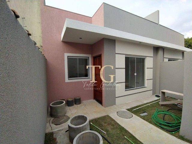 Casas lineares 2 quartos terraço gourmet - Jardim Bela Vista - Rio das Ostras/RJ