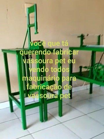 máquina de vassoura Pet