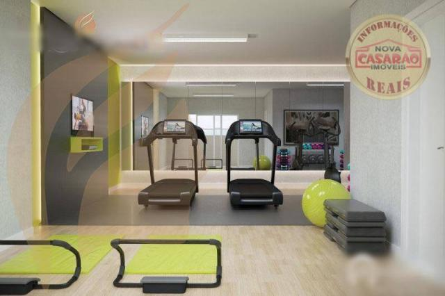 Apartamento com 2 dormitórios à venda, 93 m² por R$ 465.000 - Aviação - Praia Grande/SP - Foto 15