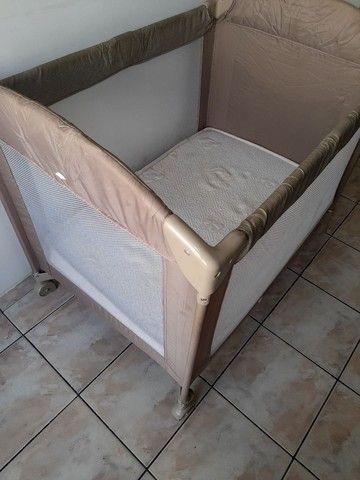 Berço camping Borigotto + colchão R$ 300,00 - Foto 6