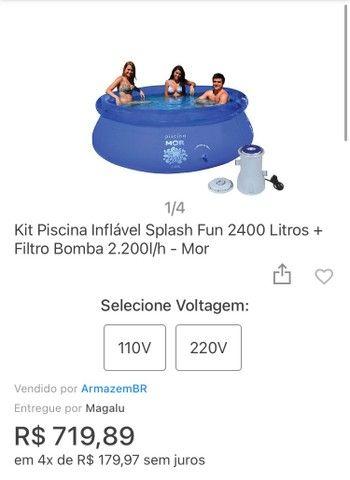 Piscina + Filtro + Capa - Foto 5