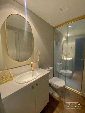 Apartamento térreo com área externa, 71m², projetados e com piscina privativa a beira mar  - Foto 9