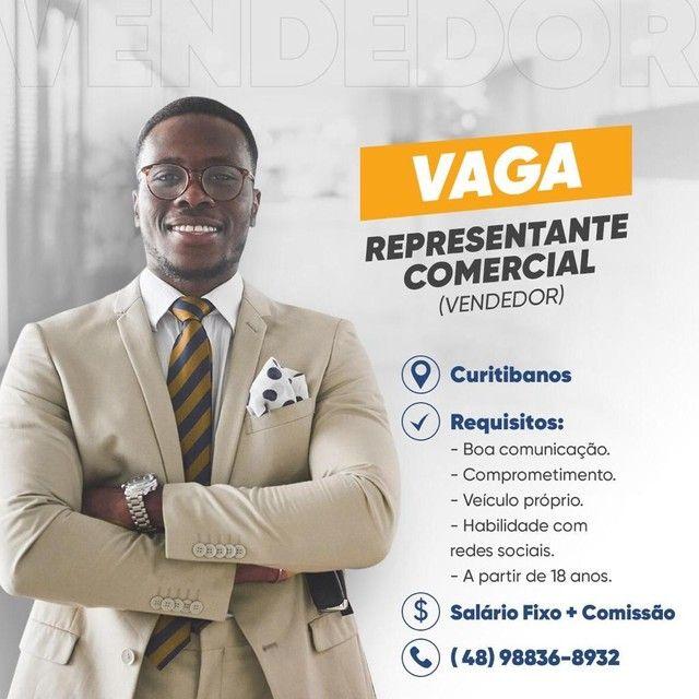 Vaga de vendedor na cidade de Curitibanos