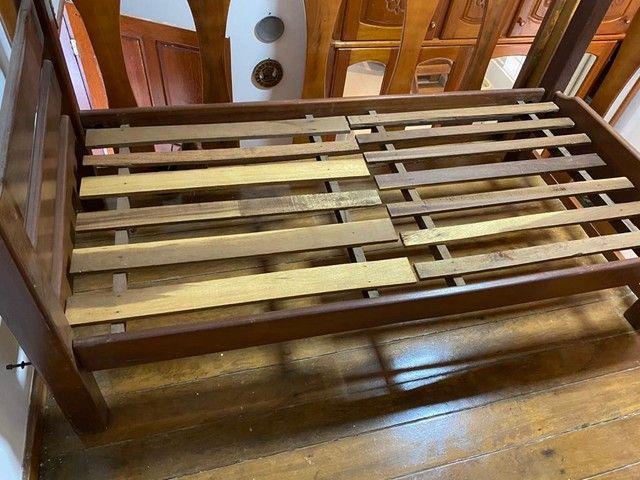 Cama solteiro em madeira reforçada - Foto 2