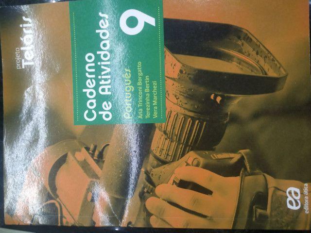 Livro de português  9° ano projeto Teláris+ Caderno de Atividades - Foto 2