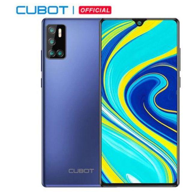 Smartphone Cubot P40 4GB + 128GB 6.2 Pol Nfc 4200mAh 4G Lte Cartão Dual Sim