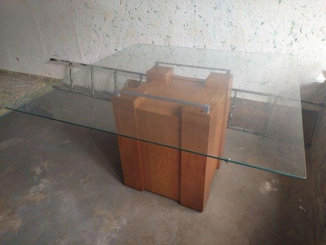 Vendo mesa de vidro