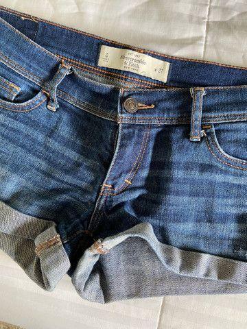 Shorts Abercrombie TAM 36/38 BR