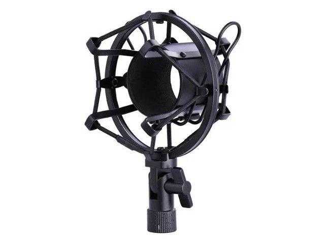 Microfone Condensador Profissional Conexão XLR Dourado BM 800 - Loja Natan Abreu - Foto 2