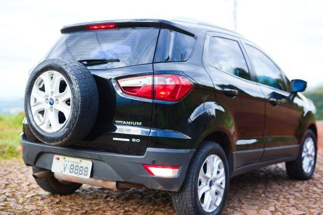 Excelente Oportunidade Ecosport Titanium 2.0 Completo 2014 Novinho TODO revisado pneus OK