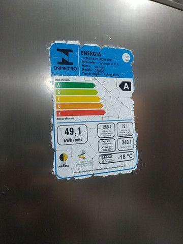 Geladeira Inox 340 Litros - Foto 5