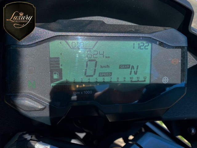 Motocicleta Bmw GS G310 2020 Preta com 600 KM - Foto 2