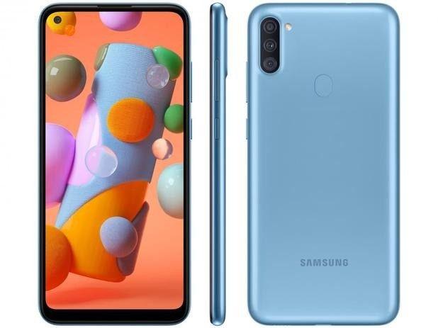 Samsung Galaxy A11 Dual SIM 64 GB azul - Foto 4