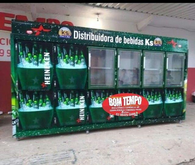 Cervejeiras e câmaras frias pra distribuidora e supermercado - Foto 5