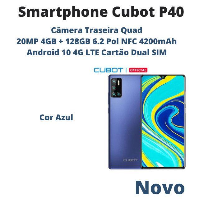 Smartphone Cubot P40 4GB + 128GB 6.2 Pol Nfc 4200mAh 4G Lte Cartão Dual Sim - Foto 2