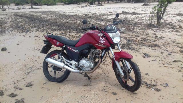 Honda Cg rroco em lander ou broz e dou a volta