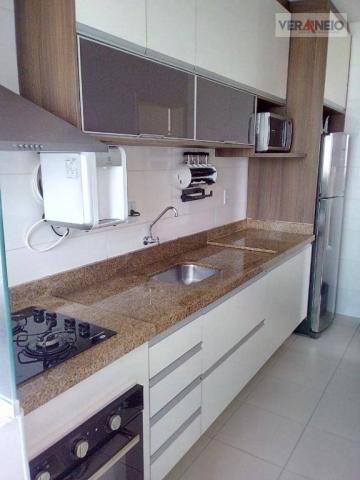Apartamento com 2 dormitórios à venda, 73 m² por R$ 275.000 - Vila Guilhermina - Praia Gra - Foto 7