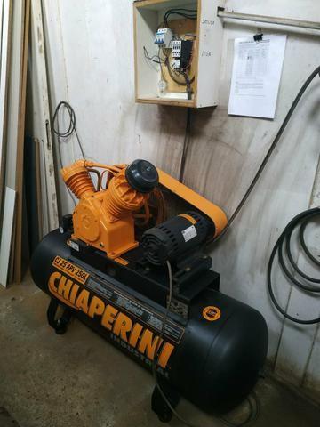 Cabine de pintura + exaustor + compressor - Foto 4